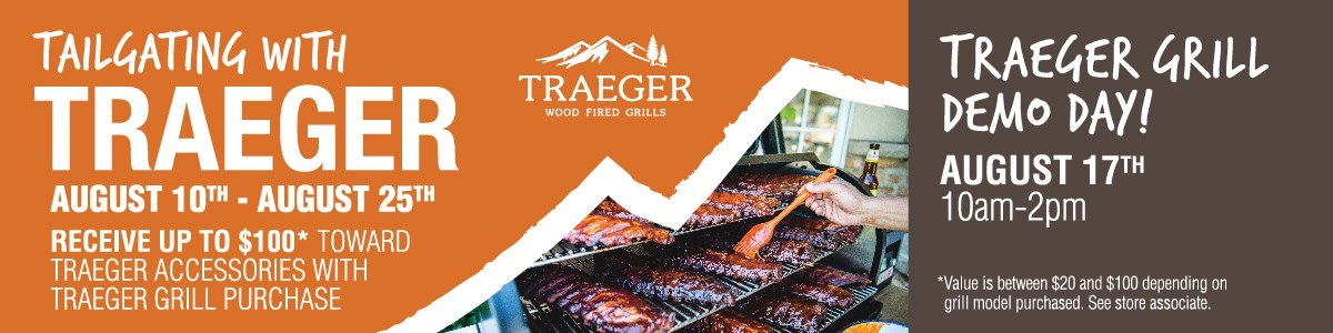 Tailgating with Traeger - web banner