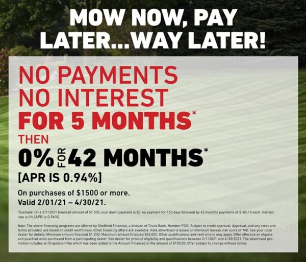 Mow Now, Pay Later